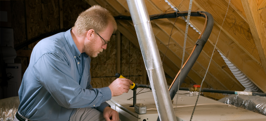 HVAC professional in Maryland