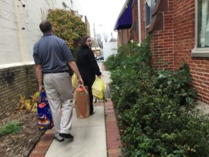 Thanksgiving donations in Maryland